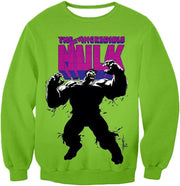 OtakuForm-OP Hoodie Sweatshirt / XXS The New Incredible Hulk Promo Green Hoodie