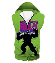 OtakuForm-OP Hoodie Hooded Tank Top / XXS The New Incredible Hulk Promo Green Hoodie