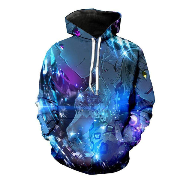 Anime Merchandise Hoodie M / Blue The Seven Deadly Sins Hoodie - Main Characters Hoodies