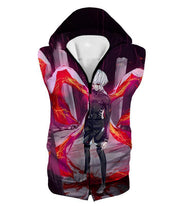 OtakuForm-OP Hoodie Hooded Tank Top / XXS Tokyo Ghoul Awesome Ken Kaneki Kink Action Cool Anime Still Hoodie
