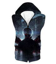 OtakuForm-OP Hoodie Hooded Tank Top / US XXS (Asian XS) Tokyo Ghoul Awesome Ken Kaneki Tentacle Kagune Hoodie  - Anime Hoodie