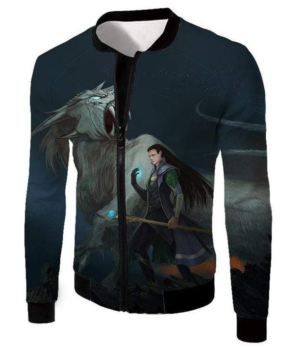 OtakuForm-OP T-Shirt Jacket / XXS Ultimate Marvel Villain Loki Animated Print T-Shirt