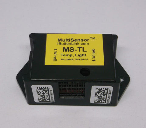 MS-TL - Temperature and Light Level Sensor - Black Case