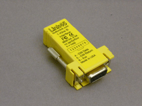 Link45 - DB9F to RJ-45
