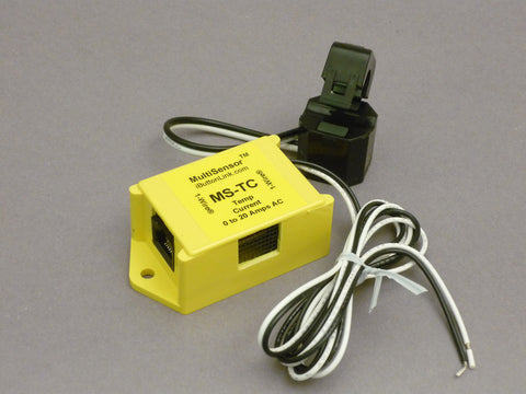 MS-TC - Temperature and AC Current Sensor, 0-20 Amps