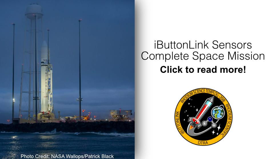 iButton Sensors Complete Space Mission