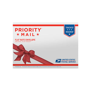 "Priority Mail Flat Rate Gift Card Mailer 10"" x 7"""