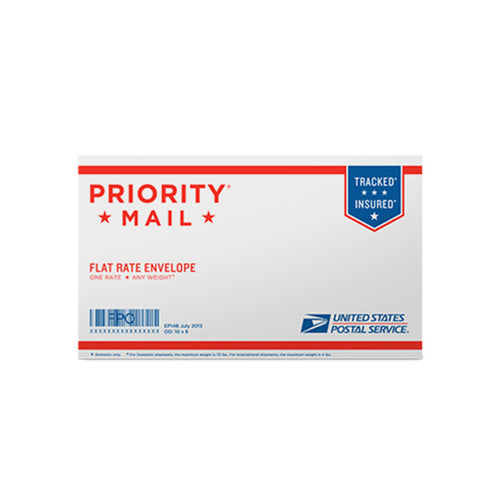 "Priority Mail Small Flat Rate Envelope 10"" x 6"""