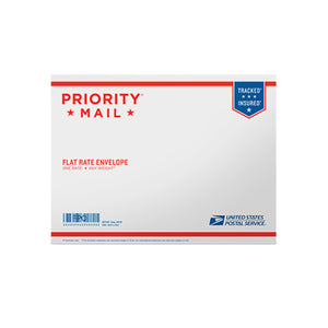 "Priority Mail Flat Rate Envelope 12 1/2"" x 9 1/2"""