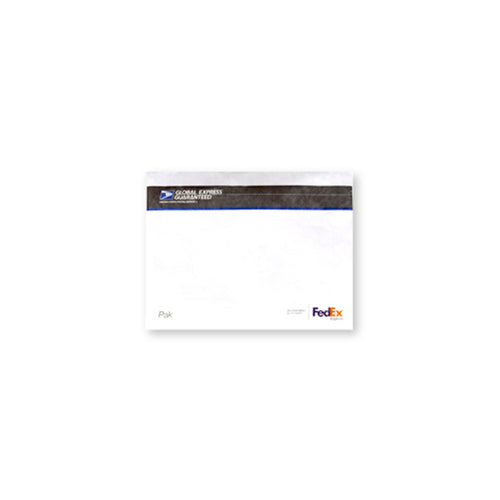 "Global Express Guaranteed Plastic Envelope 15 1/2"" x 12"""