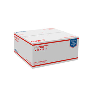 "Priority Mail Large Flat Rate Box 12 1/4"" x 12 1/4"" x 6"""