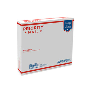 "Priority Mail Box 13 11/16"" x 12 1/4"" x 2 7/8"""