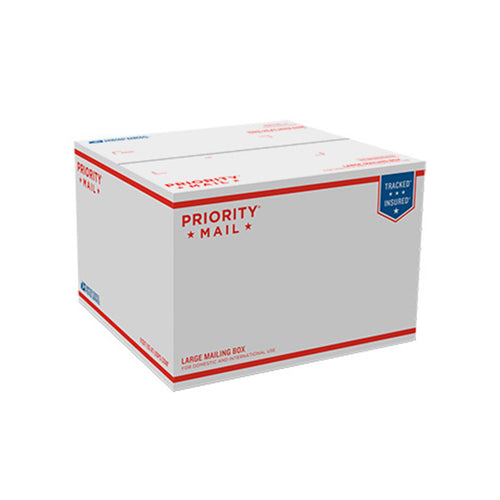 "Priority Mail Box 12 1/4"" x 12 1/4"" x 8 1/2"""