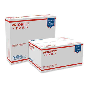 Priority Mail Medium Flat Rate Boxes, 25/pack