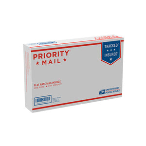 "Priority Mail Small Flat Rate Box 8 5/8"" x 5 3/8"" x1 5/8"""