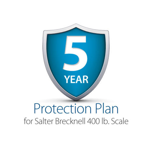 5-Year Complete Protection Plan, Salter Brecknell 400 lb. Shipping Scale