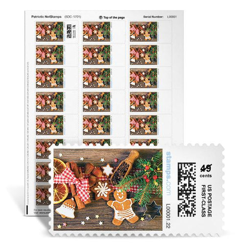 Holiday Treats NetStamps<sup>&reg;</sup>