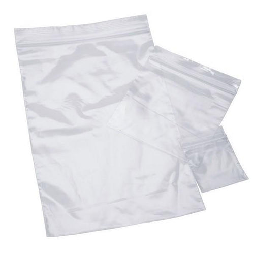 "6"" x 8"" Clear Recloseable 2mil Poly Bags"