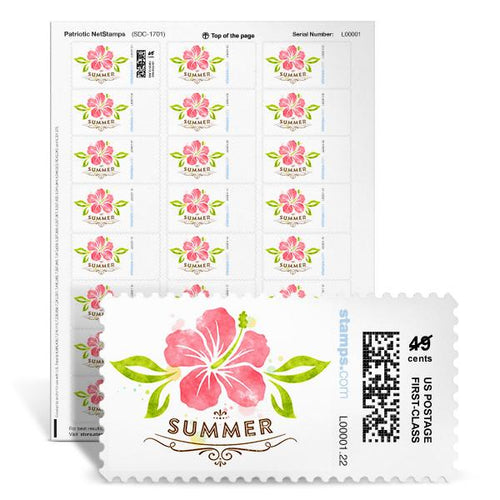 Summer Flower NetStamps<sup>&reg;</sup>