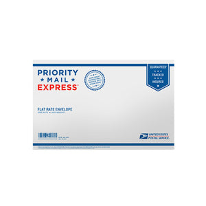 "Priority Mail Express Flat Rate Legal Size Envelope 15"" x 9 1/2"""