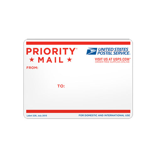 Priority Mail Address Label