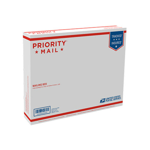 "Priority Mail Box 15 5/8"" x 12 7/16"" x 3 1/8"""