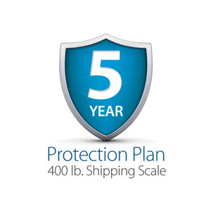 5-Year Complete Protection Plan, 400 lb. Shipping Scale