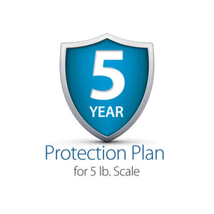 5-Year Complete Protection Plan, 5 lb. Digital Postal Scale