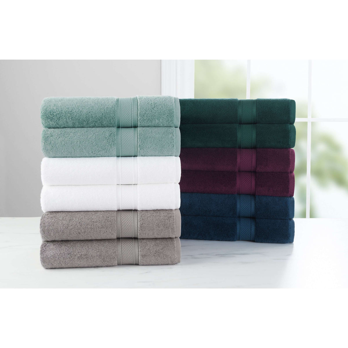 Luxury Rayon Bamboo/Cotton Towel Sets