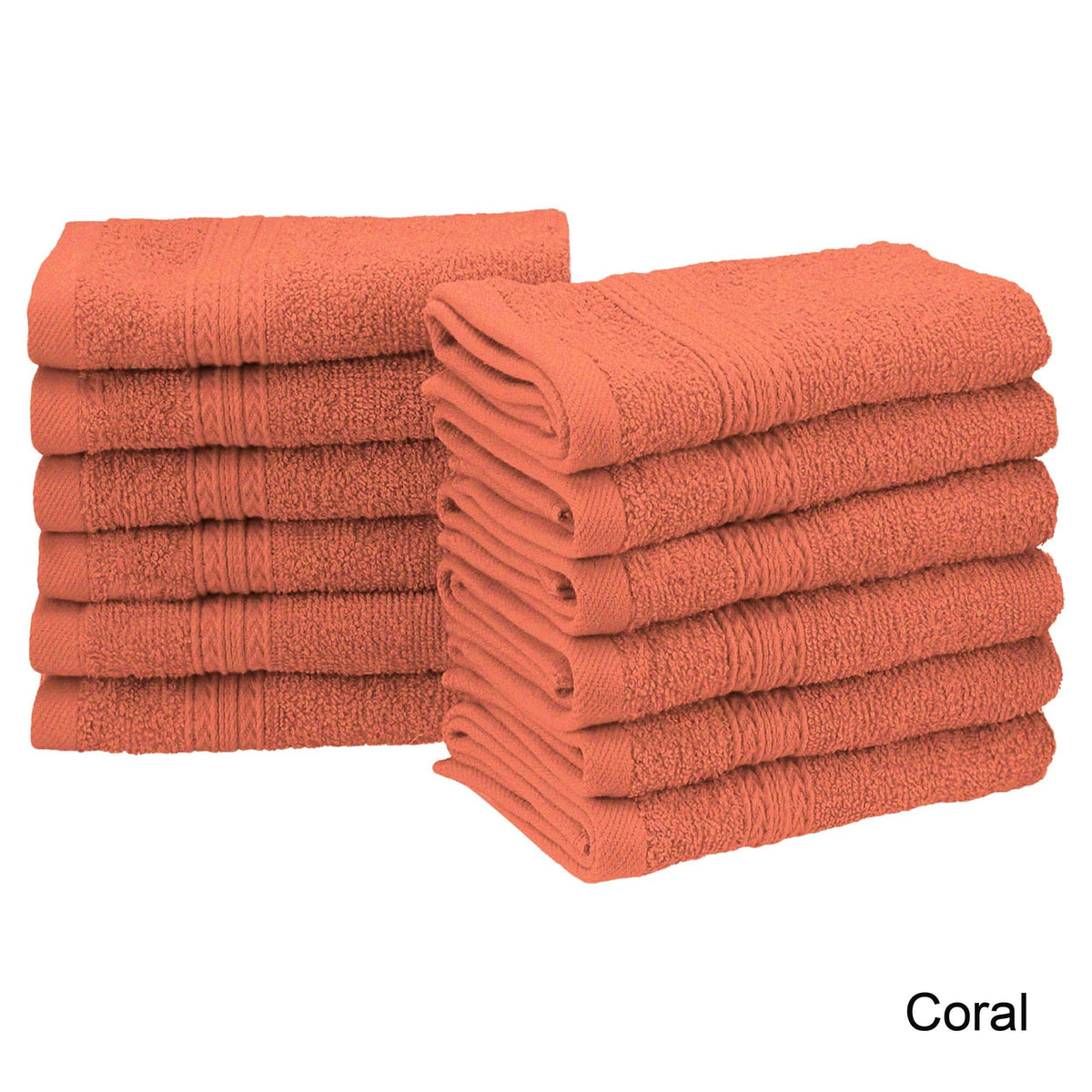 Cotton Soft and Absorbent Face Towel (Set of 12)