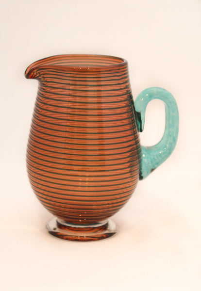 Bob Crooks - Small Orange Venetian Jug