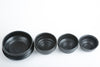 Gilles le Corre - Wide footed black dish