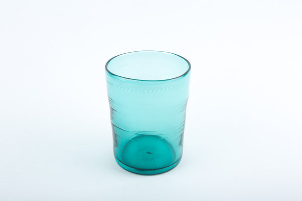 Michael Ruh - Juice Glass (Aqua)