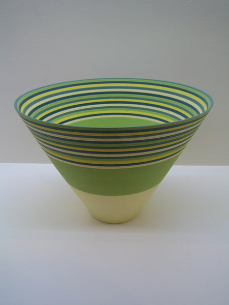 Sara Moorhouse Large Lime Green Bowl
