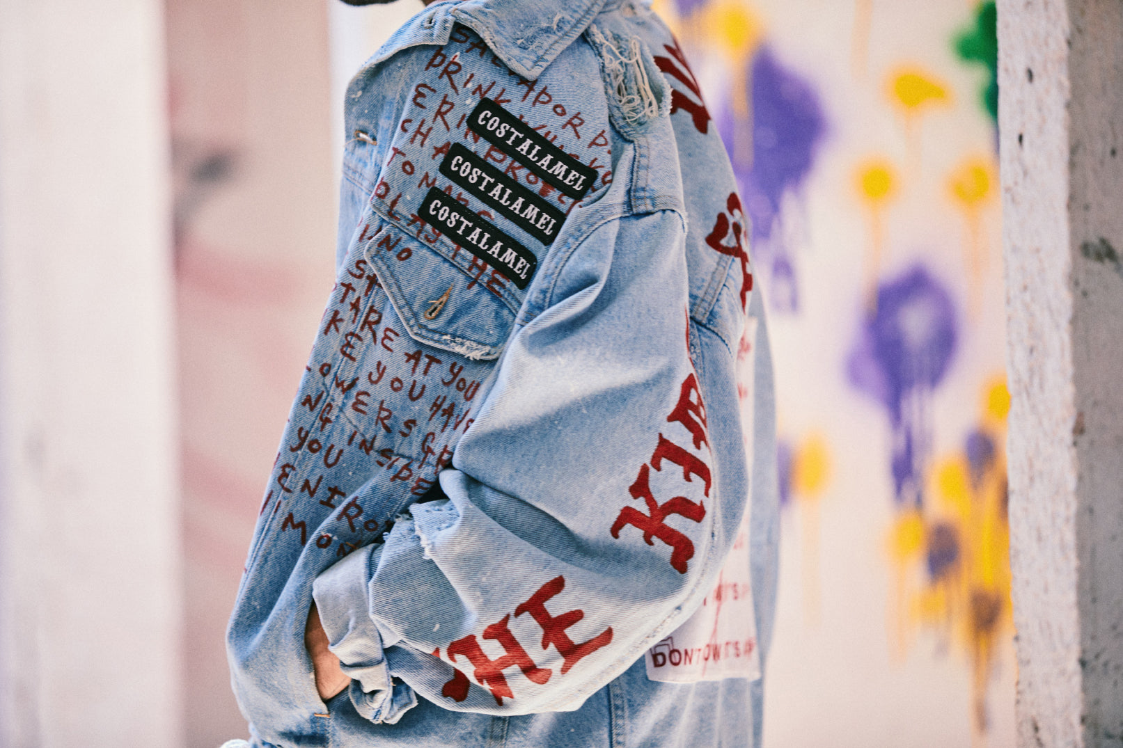 when I grow up – denim jacket