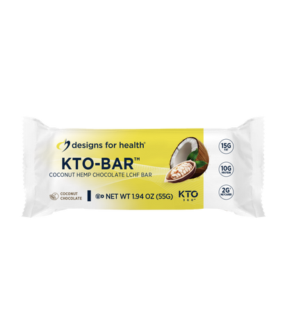 KTO-BAR™ Coconut Chocolate Case of 12 Bars