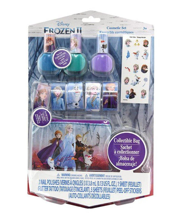 Frozen 2 Nail Polish & Sticker Set