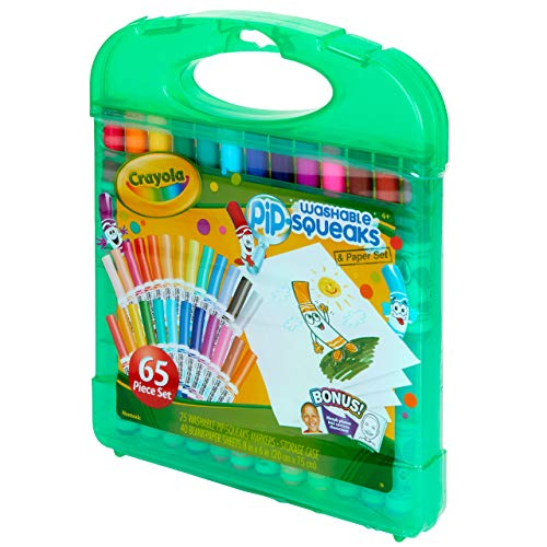Crayola Pip Squeaks Washable Markers Set Stocking Stuffer for Boys & Girls