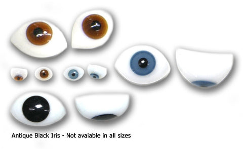 Oval Glass Doll Eyes from Schoepfers