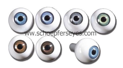 acrylic doll eyes from Schoepfers Eyes