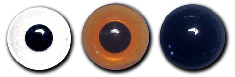 Decoy Eyes Lenses with Black Pupil ~800 Series 10 Pair
