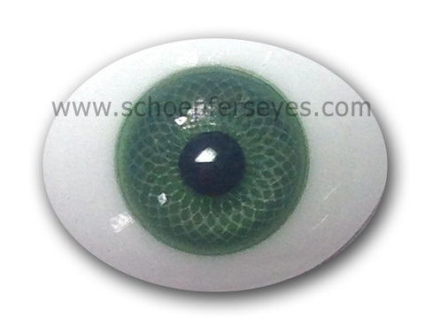 Oval Paperweight Doll Eyes from Schoepfers