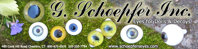 G Schoepfer Inc Eyes for Dolls