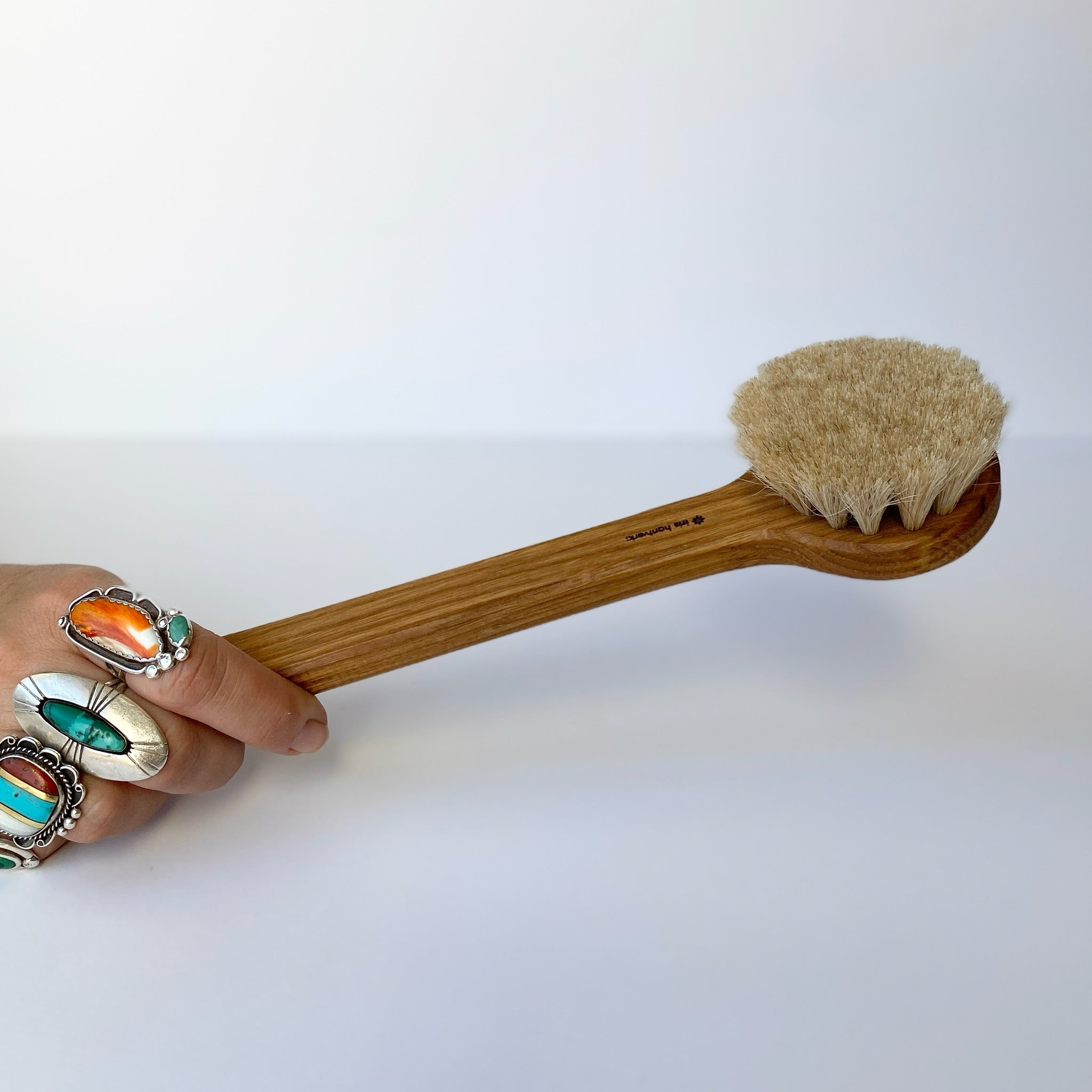 IRIS HANTVERK || BATH BRUSH WITH HANDLE
