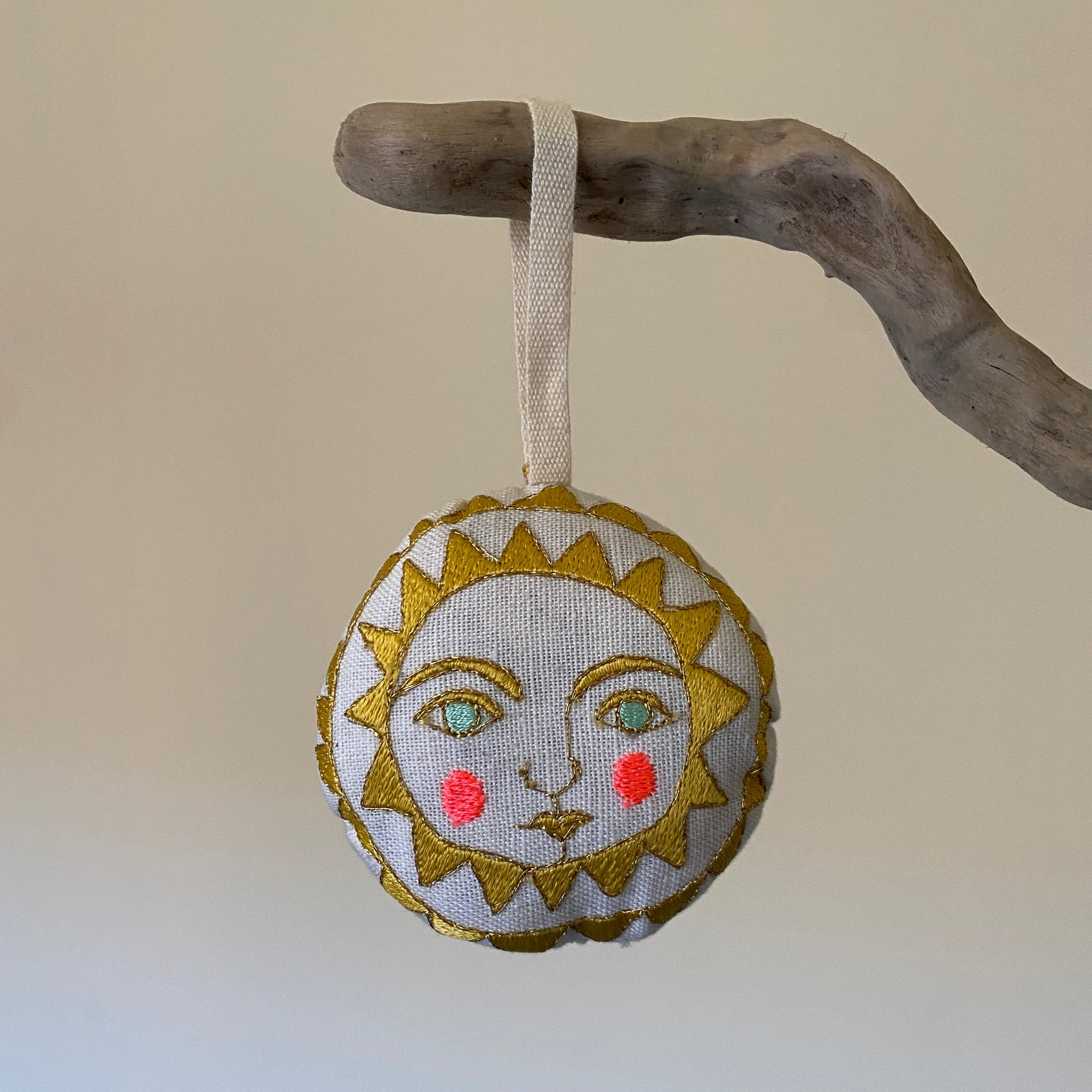 SKIPPY COTTON || HAND SEWN ORNAMENT