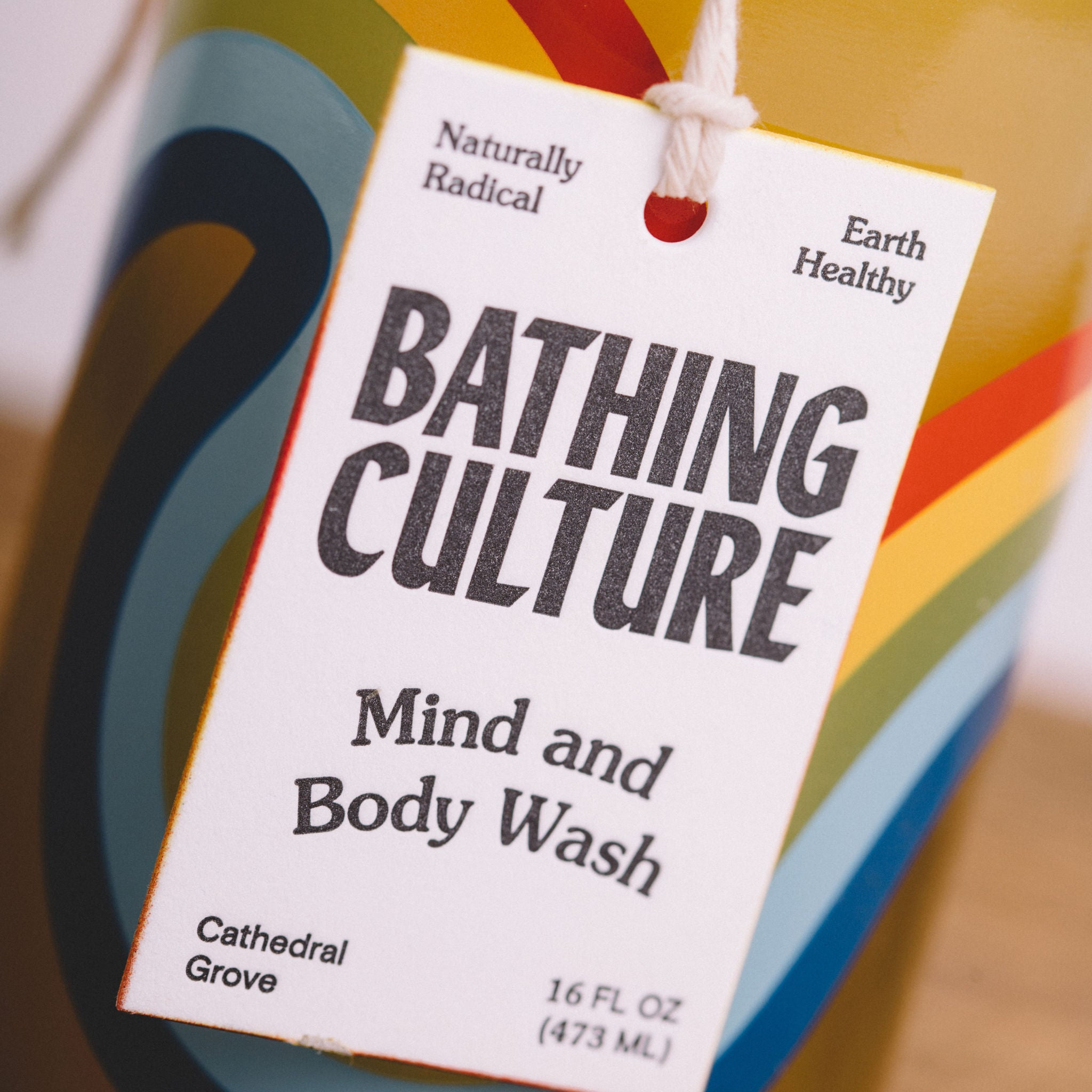 BATHING CULTURE || BODY WASH GLASS BOTTLE