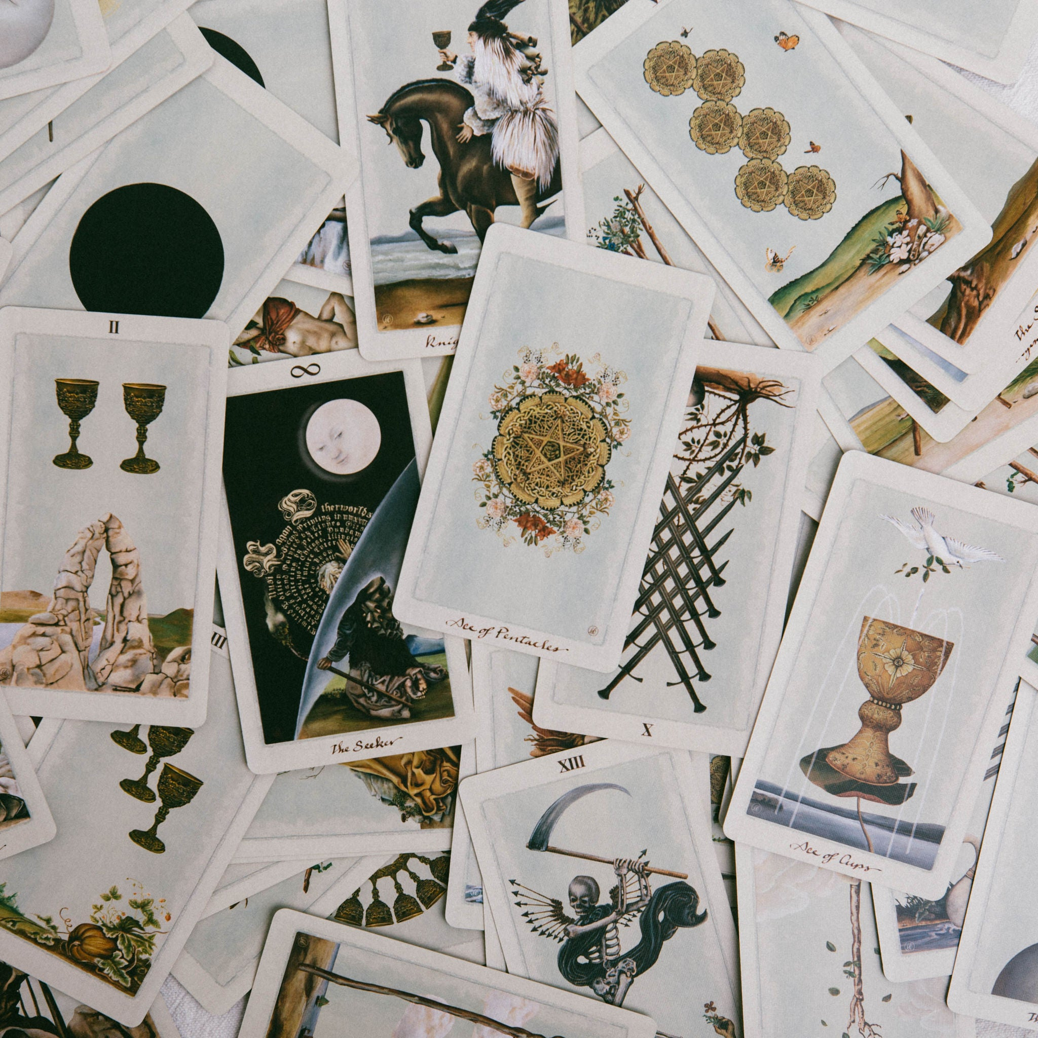 UUSI || PAGAN OTHERWORLDS TAROT