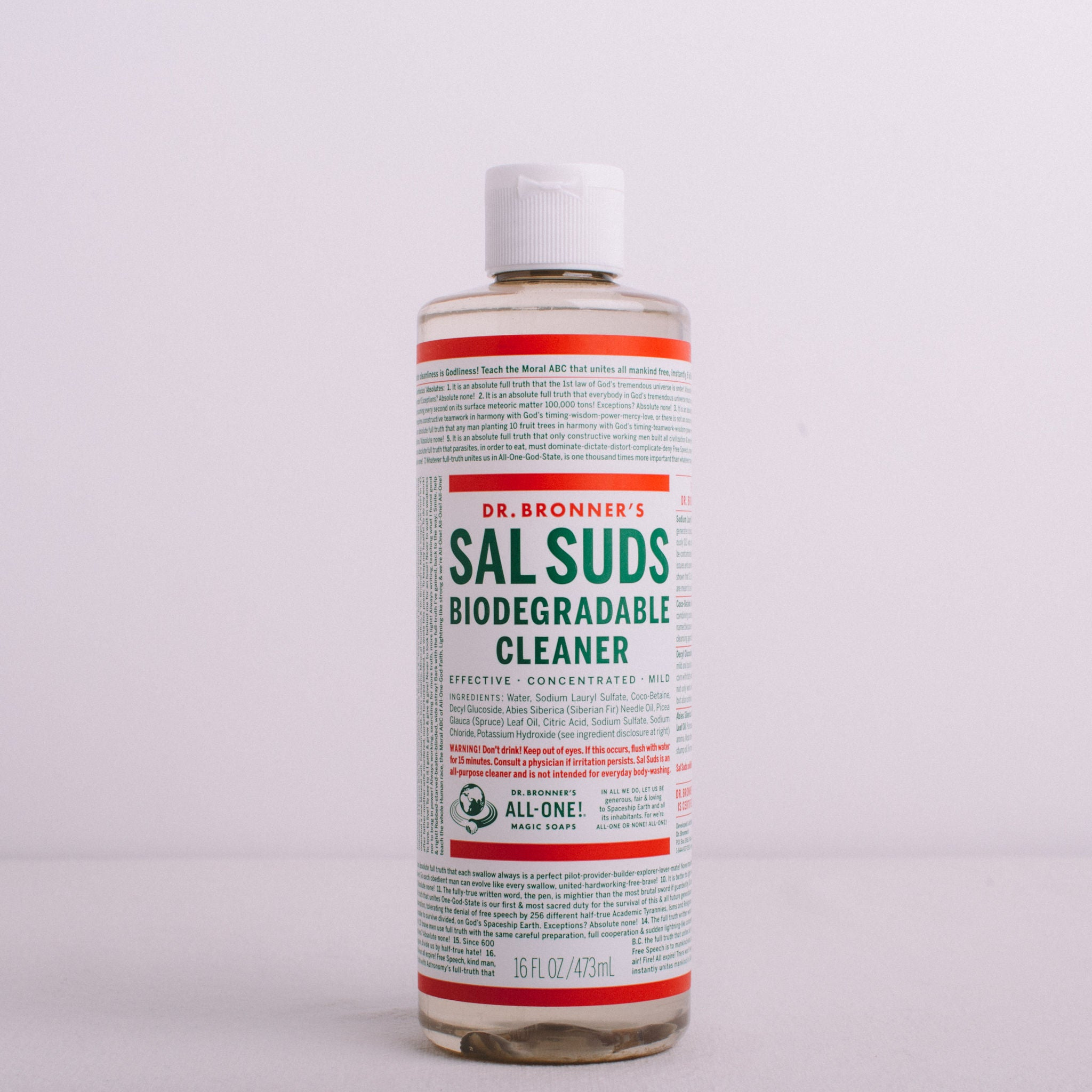 DR BRONNER'S || SAL SUDS