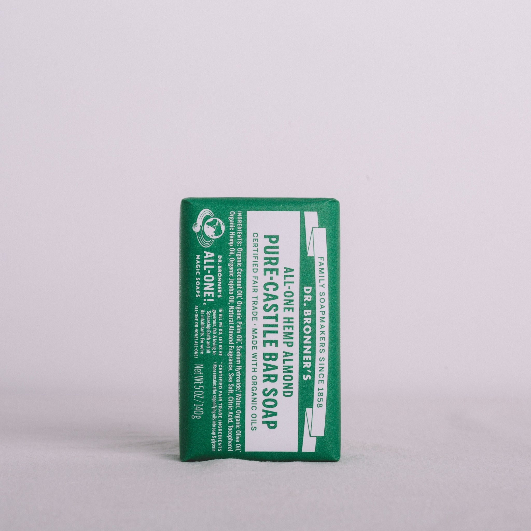 DR BRONNER'S || PURE-CASTILE BAR SOAP