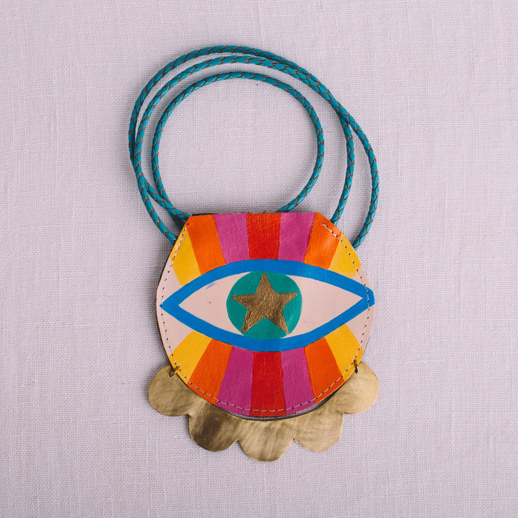 EVERYTHING SACRED || WONDER PERSON POUCH NECKLACE